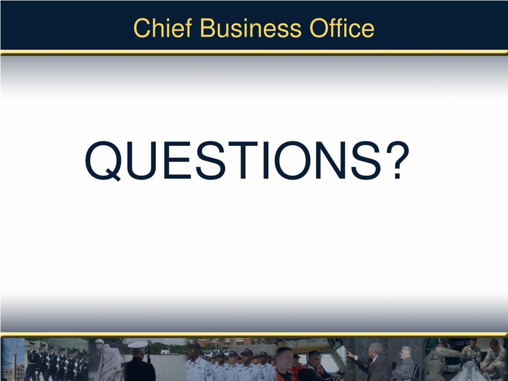 Chief Business Office