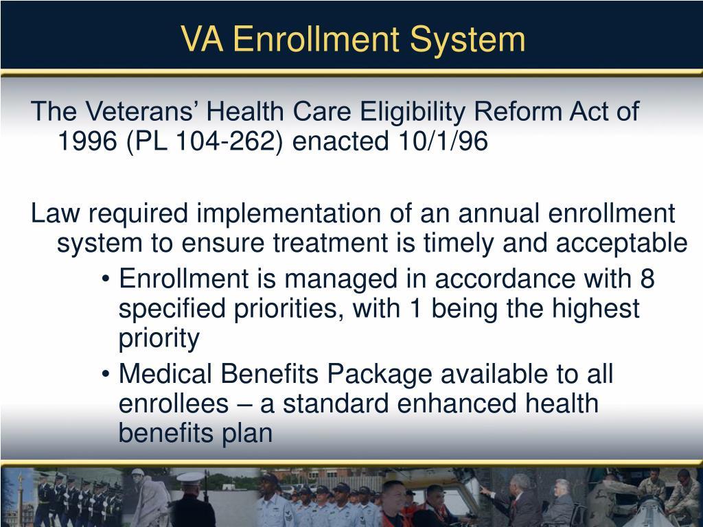 VA Enrollment System