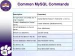 common mysql commands1
