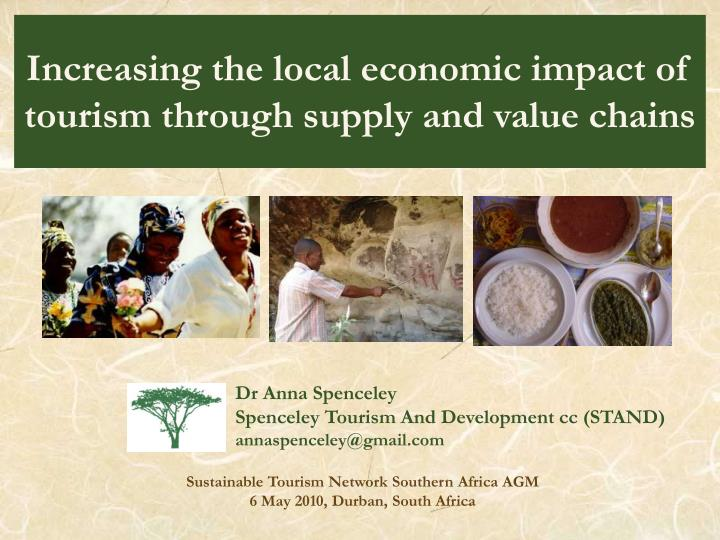 increasing the local economic impact of tourism through supply and value chains n.