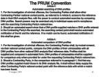 the prum convention1
