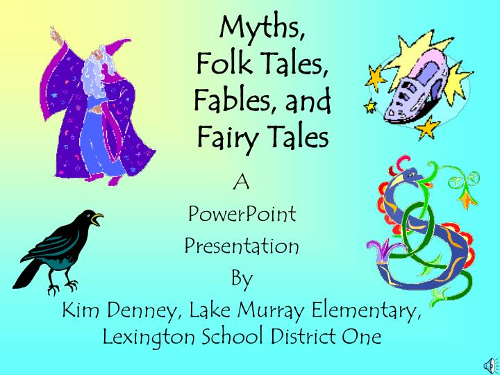 myths folk tales fables and fairy tales n.