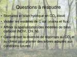 questions r soudre