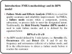 introduction fmea methodology and its rpn model