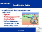 publications road safety guide