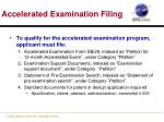 accelerated examination filing1