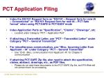 pct application filing