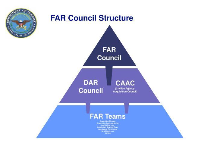 FAR Council Structure