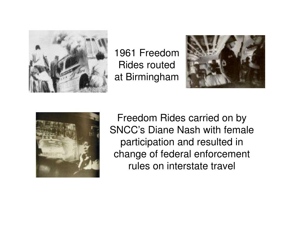 1961 Freedom Rides routed at Birmingham