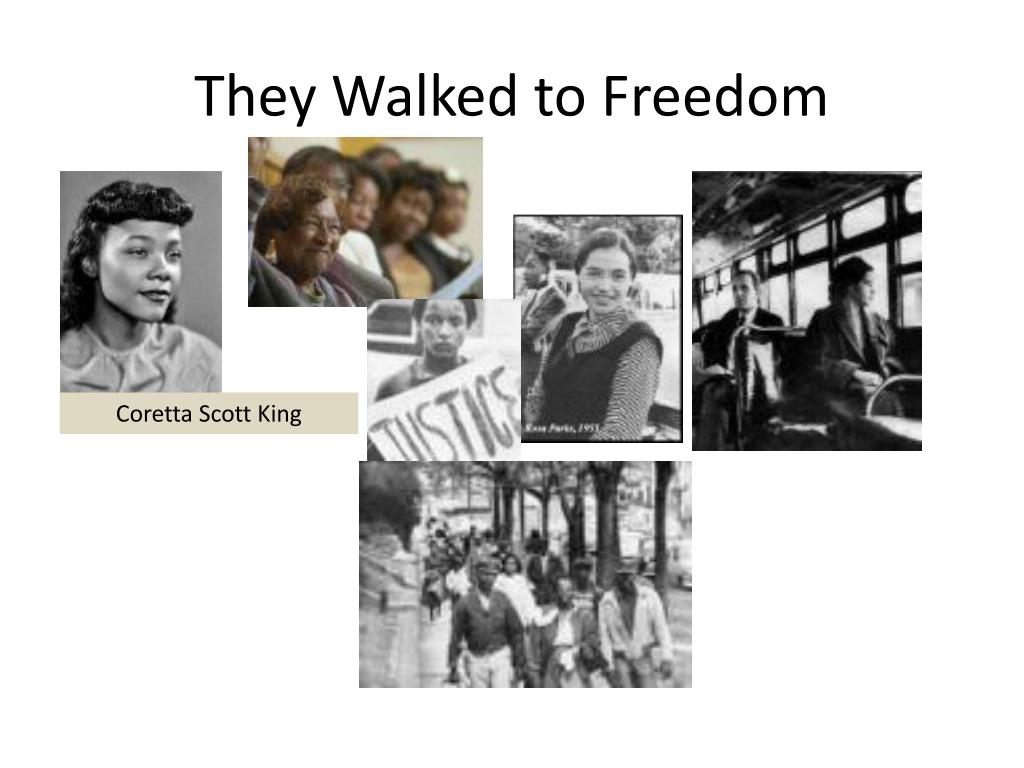 They Walked to Freedom