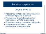 politiche cooperative
