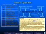 formul operatoriai