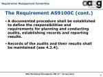 the requirement as9100c cont1