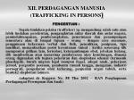 xii perdagangan manusia trafficking in persons