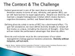 the context the challenge
