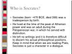 who is socrates
