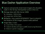 blue dasher application overview