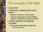 the consulate 1799 1804