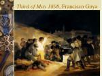 third of may 1808 francisco goya