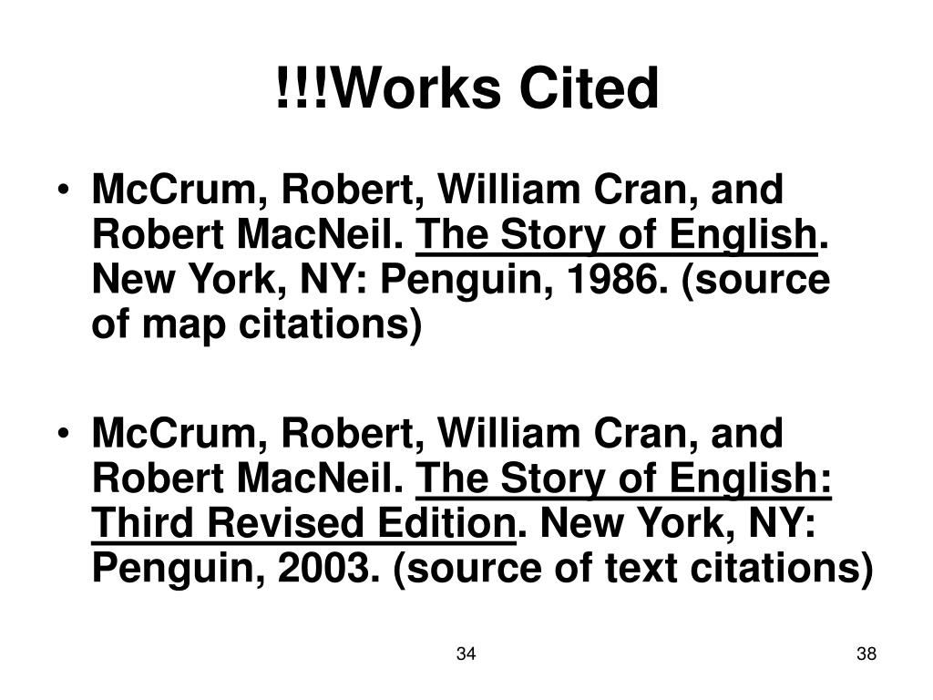 !!!Works Cited