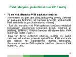 pvm statymo pakeitimai n uo 2013 met11