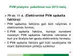 pvm statymo pakeitimai n uo 2013 met18