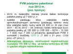 pvm statymo pakeitimai nuo 2012 m pvz t sinys1