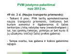 pvm statymo pakeitimai nuo 2012 m17