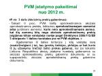 pvm statymo pakeitimai nuo 2012 m18