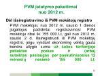 pvm statymo pakeitimai nuo 2012 m4