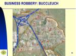 business robbery buccleuch