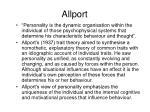 allport