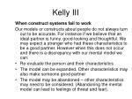 kelly iii