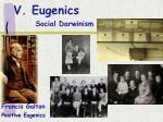 v eugenics