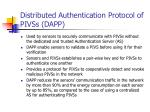 distributed authentication protocol of pivss dapp