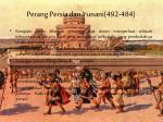 perang persia dan yunani 492 484