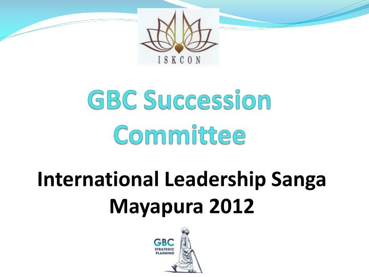 gbc succession committee n.