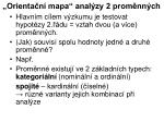 orienta n mapa anal zy 2 prom nn ch