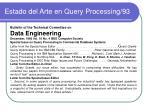estado del arte en query processing 93