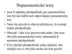 neparametrick testy