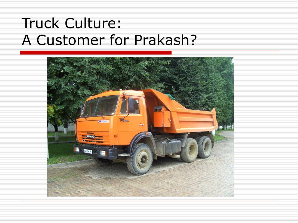 Truck Culture: