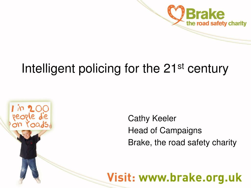 intelligent policing for the 21 st century l.