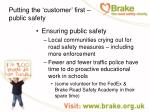 putting the customer first public safety27