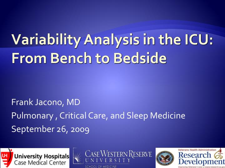 frank jacono md pulmonary critical care and sleep medicine september 26 2009 n.