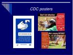 cdc posters