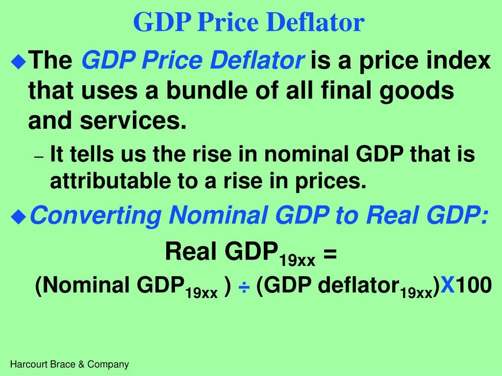 GDP Price Deflator