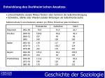 entwicklung des durkheim schen ansatzes9