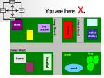 you are here x