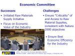 economic committee