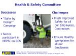 health safety committee